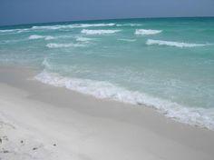 Emerald Coast - Looooooooove the color of the ocean.