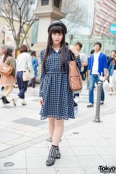 This is Sara, Harajuku Girl in GU Dress