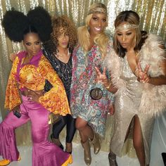 Cynthia Bailey and NeNe Leakes Go Blonde and Look Like Twins   The Daily Dish