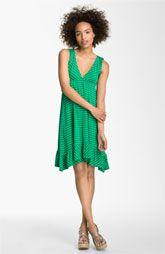 Ella Moss 'Waldo Stripe' V-Neck Dress