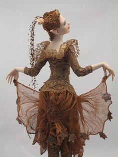 Art doll By Hannie Sarris.