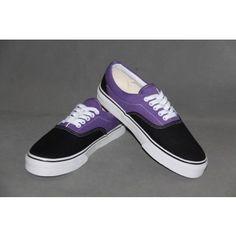 Vans 2 Tone Canvas Era Purple - Vans shoes