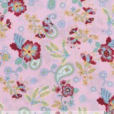 Cotton Big Flower Pink 45633-130