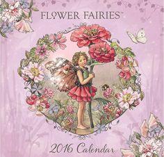 Calendar Holding's 2016 Flower Fairies calendar