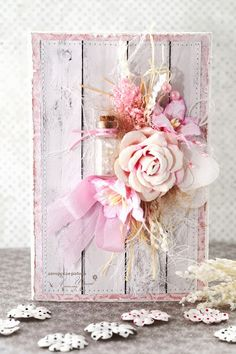 Really like this card, especially the idea that the flowers are on the fence. :) Gorgeous!