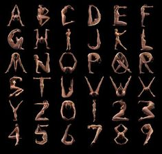 28 best images about nude alphabet on Pinterest   Santa