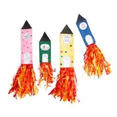 Raketer Stem Steam, Ark, Aliens, Crafts For Kids, Christmas Ornaments, Holiday Decor, Outdoor Decor, 2nd Grade Class, First Class