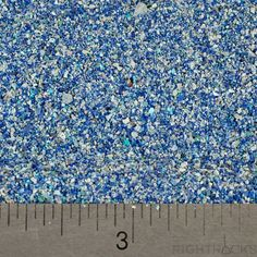 Crushed Azurite - Small Sand - 100% Natural Stone Without Fillers