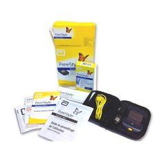 Starter Pack Optium Blood Ketone Meter   50 Ketone Testing Strips from Ketosis Tools
