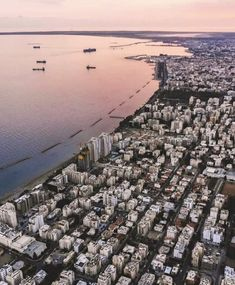 Limassol, Airplane View, City Photo