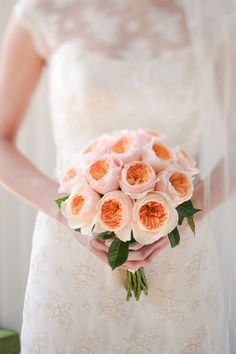 Old fashioned roses and lace  #weddingflowers #weddingbouquet