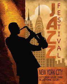 Jazz Festival 1962. Bluetone Club, New York City
