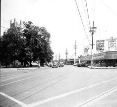 Bardstown Road and Douglass Boulevard, Louisville, Kentucky, 1938. :: Caufield & Shook Collection