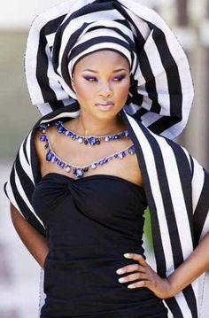 Nigerian Cultural Attire: A Tiv lady from Beune State Wearing a Tiv Native Attire