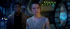 """""""The Force – it's calling to you,"""" an unseen female voice intones in the new """"Star Wars"""" trailer that debutedat halftime during tonight's Monday Night Football game. """"Just let it in."""""""