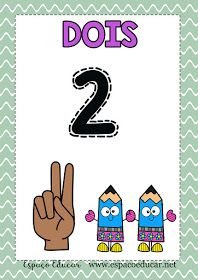 Lindos Cartazes Dos Numerais De 0 Zero A 10 Dez Para Imprimir