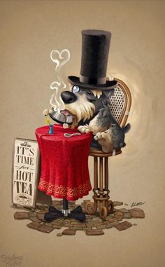 Like a sir - Cute 3D Characters by Salvador Ramirez Madriz <3 !
