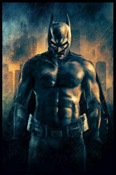Batman by Rich Davies