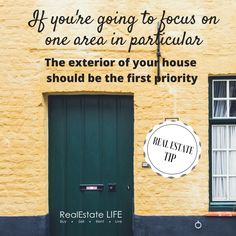 #RealEstateTip by RealEstate LIFE (www.realestatelife.com.au) Marketing Data, Real Estate Marketing, Real Estate Tips, To Focus, Priorities, Exterior, Outdoor Decor, Life, Inspiration