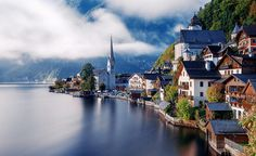 In paradise_Hallstatt by Herison Black - Photo 124417597 - Beautiful Landscape Photography, Beautiful Landscapes, Places To Travel, Places To See, Gokayama, Places Around The World, Around The Worlds, Magic Places, Real Life Fairies