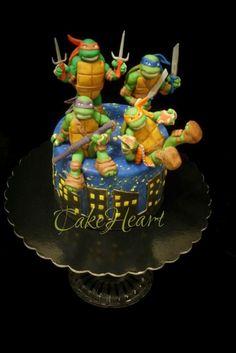 Ninja Turtles by Valentina Majella