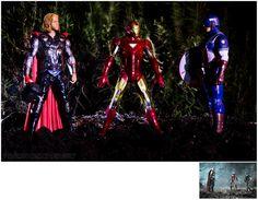 Avengers Scene Recreation by ~PrometheanPenguin on deviantART