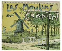 Vintage French Piano Sheet Music   Les Moulins Qui by ChicEtChoc, $17.50