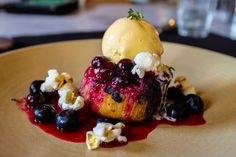 "YUM! Balise's blueberry upside-down cake made Eater's ""A Year of Great-Looking Food!"""
