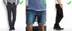 Pantalones recomendables para bajitos