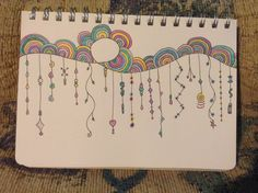 Just found this sketchbook page with Zenspirations Dangles.  :)