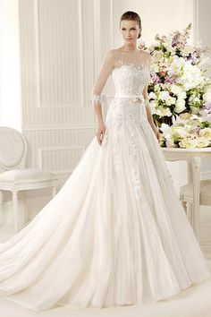 Shop beautiful 2013 Wedding Dresses A Line Court Train Tulle online affordable for big discount