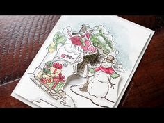 Holiday Card Series 2015 - Day 7 - YouTube