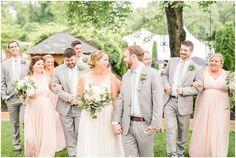 bridal party, grey suits, blush floor length dresses historic-mankin-mansion-richmond-wedding44