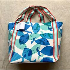 Martha Stewart Beach Bag NWT Large Beach Bag!! My grandma got me this for Christmas and I don't need it. ADORABLE and it perfect condition! Offers welcome!  HP 'Best In Bags' 4/24  Bags Totes