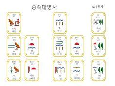 Hieroglyph Study - 히에로글리프: Hieroglyph Grammar 12 - 히에로글리프 문법 12