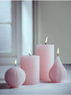 Blush Candles Handmade from high quality unscented wax, our collection of candles are a delicate shade of blush pink, creating a beautiful pastel accent in your living space. Light to create a warm glow, or display unused to preserve their Rustic Candles, Pink Candles, Best Candles, Pillar Candles, Candle Art, Lantern Candle Holders, Candle Lanterns, Homemade Candles, Scented Candles