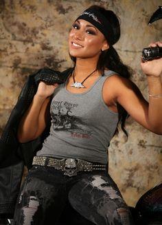 #RebelGirl On a steel horse she rides.. #womensfashion