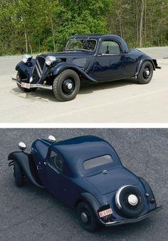 Citroën Traction Avant 11B Coupé millésimes 2/1937-1938 ('faux cabriolet')