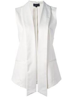 EMPORIO ARMANI Open Waistcoat. #emporioarmani #cloth #waistcoat