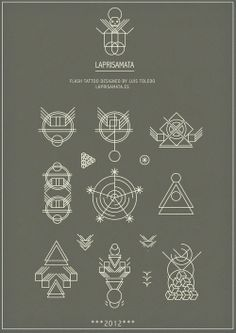 (21) geometric tattoo | Tumblr