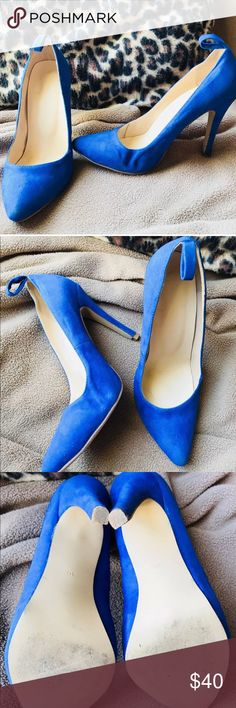Vintage Sassy Blue Women's Heels, Size 40 (10) Vintage Sassy Blue Women's Heels, Size 40 (10 US). I am unsure of the brand. Shoes Heels
