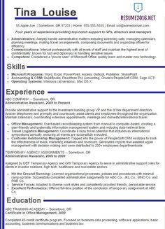 best sample resume 2016 sample resumes - Best Sample Resume