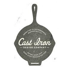 Creativo logotipo de Cast Bron