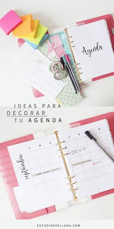 Discover recipes, home ideas, style inspiration and other ideas to try. Diy Agenda, Agenda Planner, Goals Planner, Happy Planner, Planner Ideas, Bullet Journal 2019, Bullet Journal School, Bullet Journal Ideas Pages, Bullet Journal Inspiration