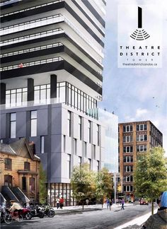 Theatre District Condos is a new condo development by Plaza Corp is launching very soon at 8 Widmer St, Toronto, ON M5V 2E7. #condosintoronto #districttheatrecondos