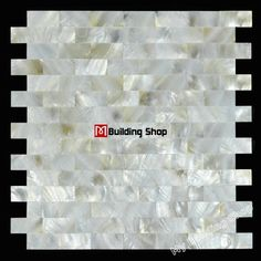 Brick mother of pearl shell wall tiles backsplash MOPS085 bathroom shell tile subway mother of pearl kitchen tiles mosaics