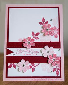 Again Blooming Marvelous Stampin' Up! sale-a-bration 2013,  (lifted from Sandi MacIver)