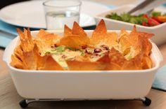 Tacograteng med bønner og gulrot- Trines Matblogg