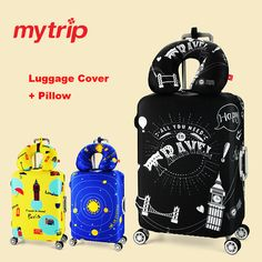 Luggage Cover Tiger Safari Cat Wild Life Vintage Protective Travel Trunk Case Elastic Luggage Suitcase Protector Cover