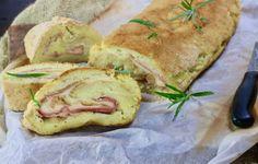 rotolo di patate con prosciutto e formaggio, un delizioso secondo piatto con un purea cremoso che racchiude tanto formaggio filante Italian Recipes, Nom Nom, Sandwiches, Carne, Pies, Paninis